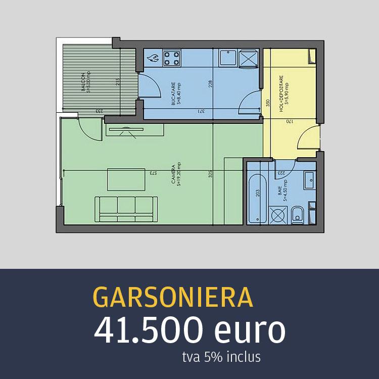 garsoniere Arcadia Residence Metalurgiei