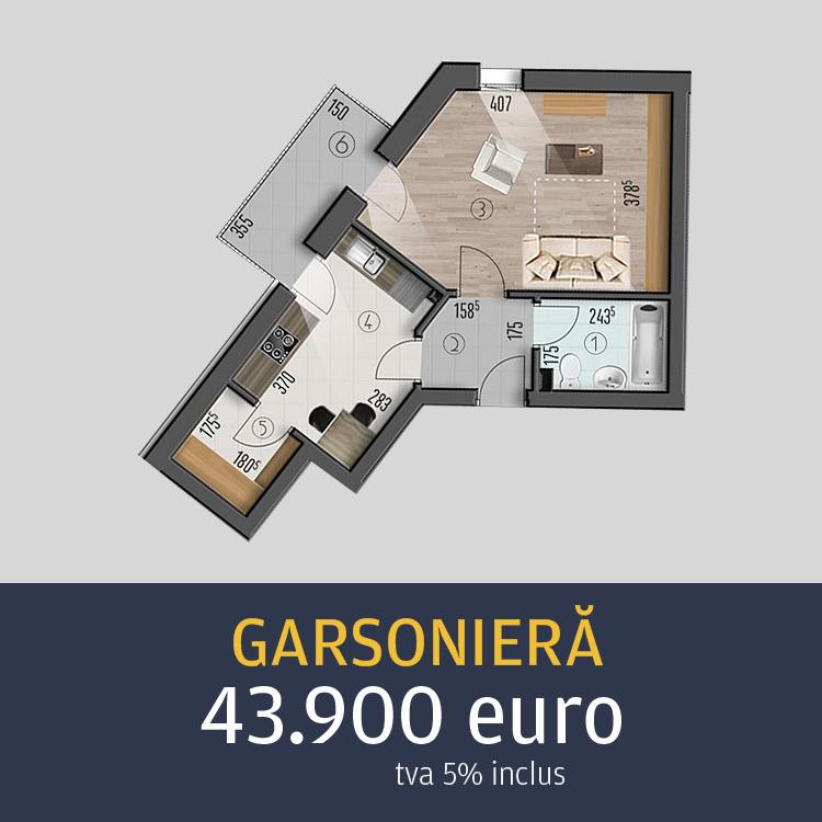 garsoniere Top House Residence Metalurgiei